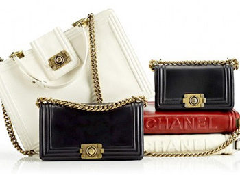 Le Boy Bag par Chanel