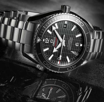 """The Seamaster Planet Ocean """"Skyfall"""" 600M by Omega"""