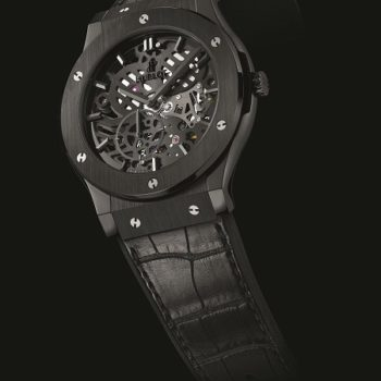 The New Watch Classic Fusion Squelette by Hublot
