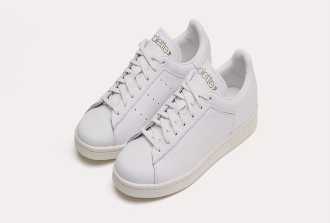 The Stan Smith With Gold Lettering