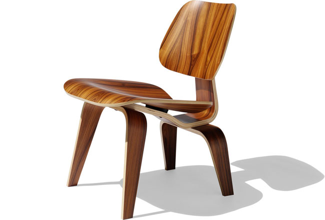 The Eames Lounge Chair Wood (LCW) – ICON ICON