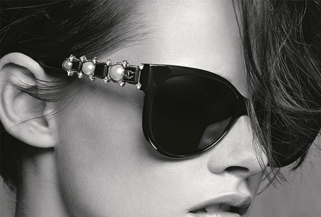 Karl Lagerfeld About the Sunglasses