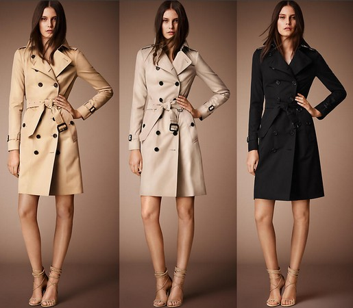 The Burberry Trench by Angela Ahrendts