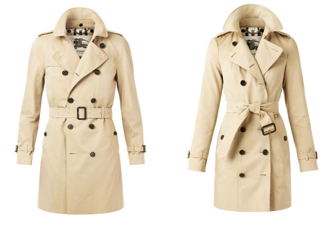 Le Trench Coat Burberry Automne-Hiver 2015-2016