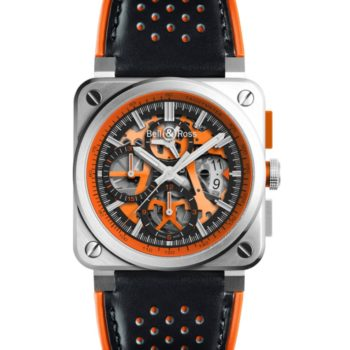 La Nouvelle Bell & Ross BR03-94 AeroGT Orange