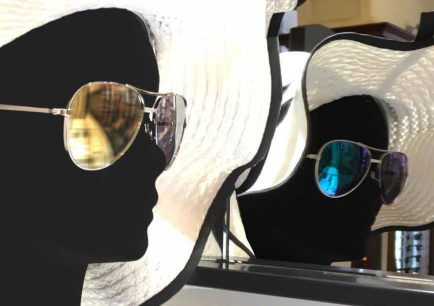 Silver Sunglasses by Tom Davies for Meyrowitz
