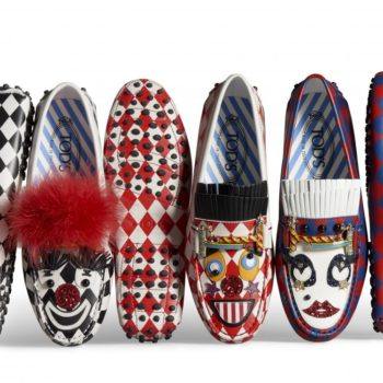 Anna Dello Russo's Circus Gommino and Double T Bag for Tod's