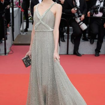 Cannes: the Dior dress and the Rose Dior Bagatelle ring
