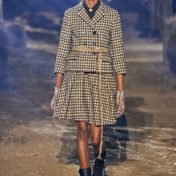 Houndstooth And Tailleur Bar : The Sustainable Vision Of Dior For Spring/Summer 2020