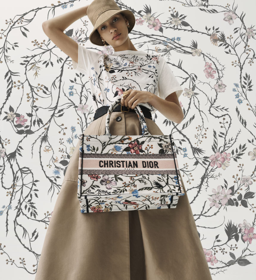 The Dior Fall/Winter 2020 Collection and La Rosa Mutabilis