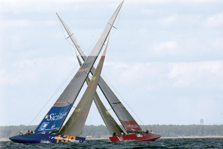 America's Cup And Luxury Homes