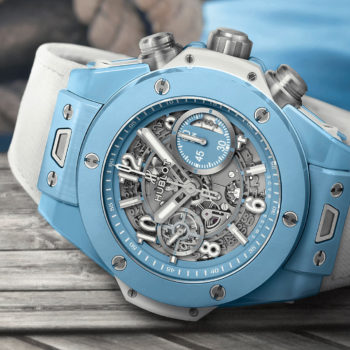 The New Hublot Big Bang Unico Sky Blue
