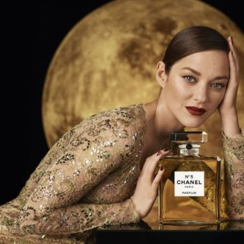 Marion Cotillard Galvanize Le N ° 5 Over The Moon